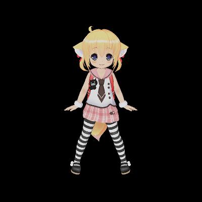 ふぉっくす紺子(公式モデル)